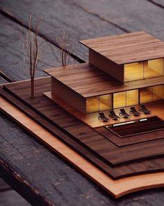 Impressive Architecture Model For You – Design and Decor Maquette Architecture, Architecture Design, Architecture Model Making, Architecture Magazines, Concept Architecture, Futuristic Architecture, Architecture Sketchbook, Architecture Diagrams, Model Building