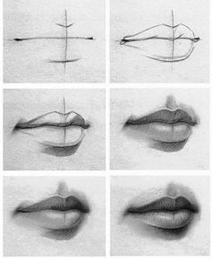 Trendy Drawing Hair Tutorial Coloring Sketch - Image 5 of 24 Realistic Pencil Drawings, Pencil Drawing Tutorials, Art Drawings Sketches Simple, Pencil Art Drawings, Cool Drawings, Drawing Tips, Drawing Techniques, Drawing Ideas, Sketch Drawing