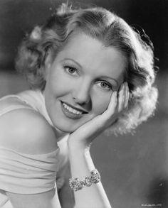 Film star Jean Arthur