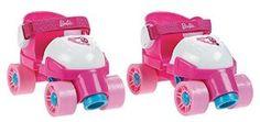 Amazon.com: Fisher-Price Barbie Grow to Pro 1-2-3 Roller-skates: Toys & Games