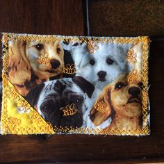 Quilted card for Della. 9-2015