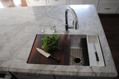 1000 Images About Kitchens Prep Sink On Pinterest