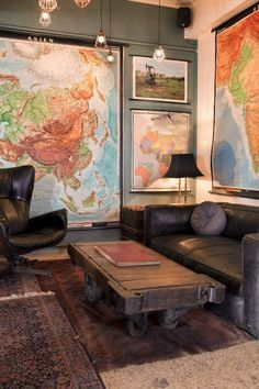 Really want some old school maps for my hallway to pin all the places I've been, and maybe bucket list ideas.