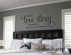 Removable Wall Decals, Vinyl Wall Decals, Wall Stickers Quotes, Vinyl Wall Quotes, Quote Wall, Sticker Citation, Family Wall Decor, Family Wall Quotes, Bedroom Decor For Couples