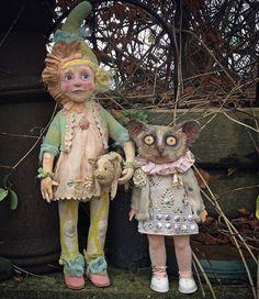 781 отметок «Нравится», 16 комментариев — Annie Montgomerie (@annie_montgomerie_art) в Instagram: «DeliKate and Kinkin bushbaby. Part of new collection for 2018. #anniemontgomerie #sculpture…»
