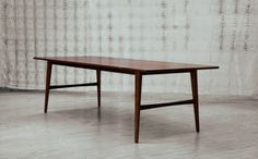 Original Finish table in blackwood