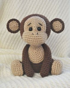 Free naughty monkey amigurumi pattern