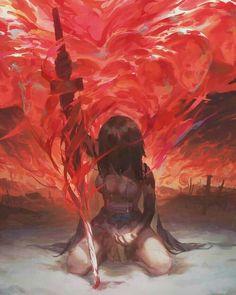 Dark Fantasy Art, Fantasy Girl, Fantasy Artwork, Fantasy Character Design, Character Design Inspiration, Character Art, Anime Art Girl, Manga Art, L5r
