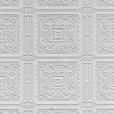 Turner Tile by Anaglypta - White - Wallpaper : Wallpaper Direct Vinyl Wallpaper, Anaglypta Wallpaper, Buy Wallpaper Online, Embossed Wallpaper, Wallpaper Panels, Textured Wallpaper, Wallpaper Roll, Pattern Wallpaper, Painted Wallpaper