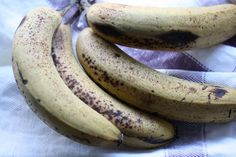 What to do with old bananas....
