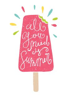 All you need is summer