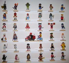 Playmobil shelf