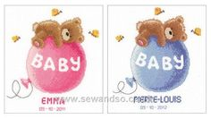 Baby Dreams Birth Sampler