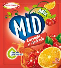 MID Mix Laranja e Acerola
