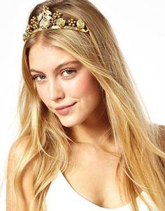 ASOS Leaf Hair Crown