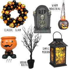 What is your halloween decoration style? Industrial or Modern? Ecclectic or Classic?
