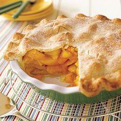 Deep-Dish Peach Pie--  Always my summer favorite!