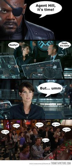 Funny The Avengers and HIMYM