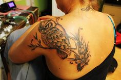 Paia owl Tattoo placement