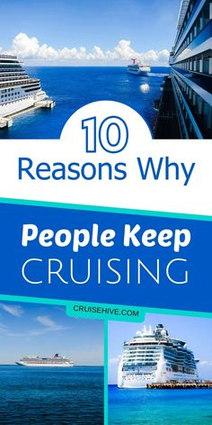 How about some travel inspiration with these ten reasons why people keep going on a cruise vacation. Cruise Excursions, Cruise Destinations, Shore Excursions, Packing List For Cruise, Cruise Travel, Cruise Vacation, Disney Travel, Cruise Formal Night, Alaska Cruise Tips