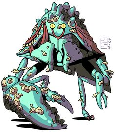 YURIAN Yurians are a species of man-sized intelligent crustaceans that move about precariously atop a pair of spindly insectile legs. Found mostly in coastal caves, they are a simple folk, primitive hunter-gatherers who subsist on...