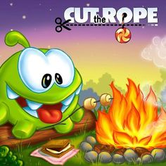 Cut The Rope - Om Nom Campfire