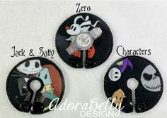 Nightmare Before Christmas Gtube Covers Gtube Pads Mic-Key Mickey Button Feeding Tube Pads Custom Jack Skellington by AdorabellyDesign on Etsy