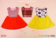 baby sewing pattern pdf/ kids vintage dress / by hellodearkids