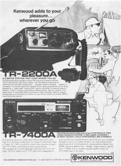 1977 Advertisement for Kenwood Radios