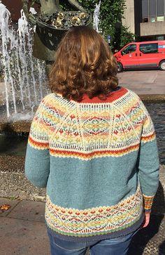 Ravelry: Solrosa / Sonnenwende / Solstice pattern by Anne Kjerstin Heggdal