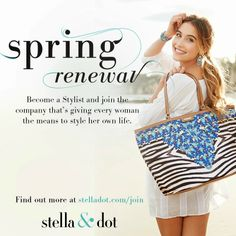 Stella & Dot Special Offers for Stylists -  www.stelladot.com/denisebernard