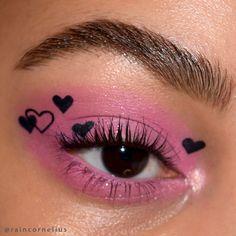 Emo Makeup, Indie Makeup, Eye Makeup Art, Skin Makeup, Kawaii Makeup, Soft Grunge Makeup, Pastel Goth Makeup, Weird Makeup, Crazy Makeup