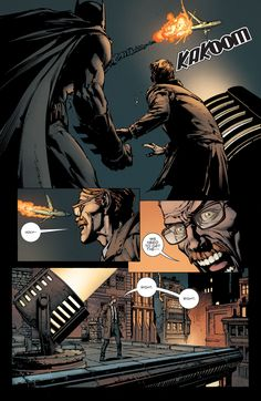 Batman 1. Bruce Wayne. Jim Gordon.