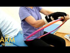 Stroke Nation | Stroke Recovery Exercise | Hula Hoop Bus Driving Arm Exercise