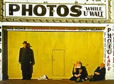Coney Island, 1953 - Three men take the sun against a tattered storefront in Coney Island, as captured by veteran New York photographer Marvin Newman Saul Leiter, History Of Photography, Color Photography, Street Photography, Magical Photography, Inspiring Photography, Glamour Photography, Photography Projects, Lifestyle Photography