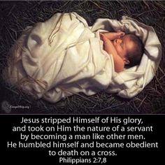 Phillipians 2:7,8 Christmas Poems, Christmas Music, Merry Christmas, Christmas Videos, Christmas Coffee, Christmas Time, Christmas Decor, Birth Of Jesus, Baby Jesus