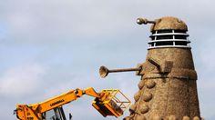 35-foot-tall straw Dalek terrorizes British countryside