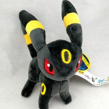 "6 ""Pokemon Juguetes de Peluche Umbreon Espeon Pikachu Suave Peluche Lindo Corto Floss Muñeca de Dibujos Animados Anime"