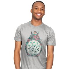Unexpected Encounter T-Shirt - Totoro T-Shirt is $13 today at Ript!