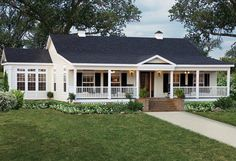 Modular Home Floor Plans With Wrap Around Porch   Wooden Home