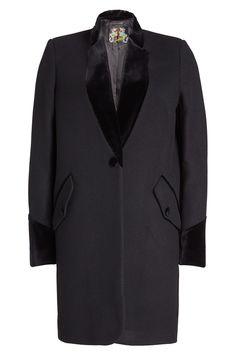 Seafarer Coat With Velvet In Black Seafarer, Mantel, Short Coats, Duster Coat, Style Inspiration, Blazer, Detail, Fashion Designers