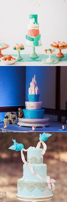 "Wedding Cakes That Channel Your Inner Disney Princess.  The ""Aladdin"" cake by The Flour Garden"
