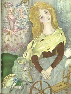 Adrienne Segur «El pájaro de oro» | Hermanos Grimm