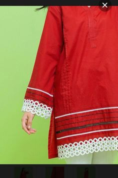 Kurti Neck Designs, Dress Neck Designs, Kurti Designs Party Wear, Ladies Kurti Design, Girls Frock Design, Fancy Dress Design, Stylish Dress Designs, Simple Pakistani Dresses, Pakistani Dress Design
