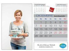 Dicembre:...un bellissimo sorriso di Michelle Bernat di Mi-Art di Albissola Marina per arrivare al Natale e al Capodanno! Ph. Foto Studio Azais - Finale Ligure