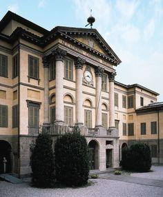 The Art Gallery Accademia Carrara in the Lower City, #Bergamo --- La galleria d'arte Accademia Carrara in Città Bassa, #Bergamo