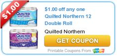 New Coupon: $1/1 Quilted Northern 12 ct Double Roll