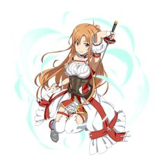 File:(White Flash) Asuna MD.png