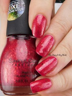 Sinful Colors Walk the Walk Luxe Fragments | Be Happy And Buy Polish https://behappyandbuypolish.com/2016/12/09/sinful-colors-luxe-fragments-walk-the-walk-tear-it-up-couture-for-sure-swatches-review/