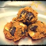 eggless flourless chickpea chocolate chip cookies recipe